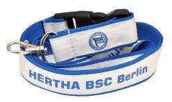 Двойно шита лента за бадж Hertha BSC