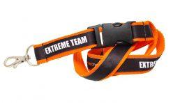Двойно шита лента за бадж Extreme team