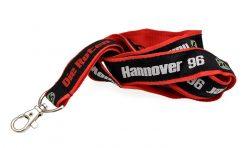 Двойно шита лента за бадж Hannover