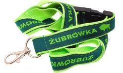 Двойно шита лента за бадж Zubrowka