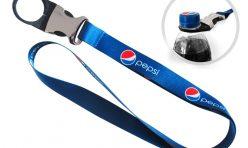 Лента за врат с държач за бутилка - Pepsi