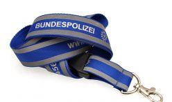Светлоотразителна лента  за бадж - Bundespolizei