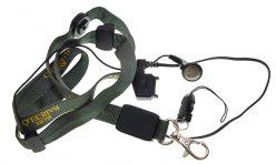 Лента  за врат със слушалки