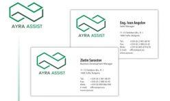 Визитка и бланка Ayra Assist