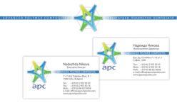 Визитка и бланка APC