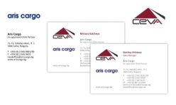 Визитка и бланка Aris Cargo