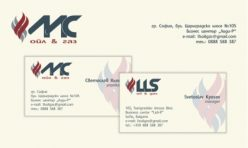 Визитка и бланка LLS