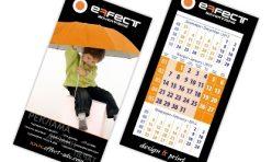 Календар - пирамидка Effect