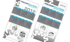 Календар - пирамидка Precomp Solutions